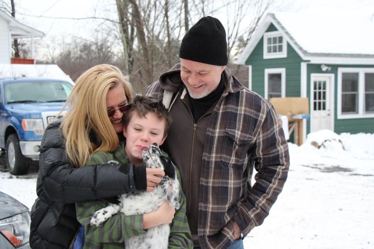The Payne-Rosen Family from NY with Olympus